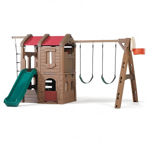 STEP2 Naturally Playful Adventure Lodge Play Center - delivered by Shahaleel Within 3 Working Days