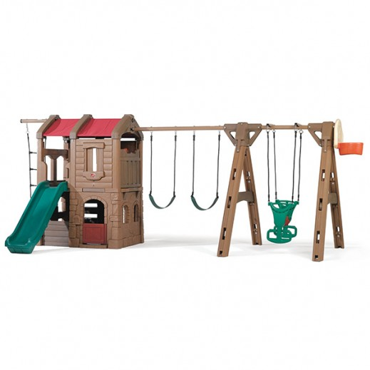 STEP2 Naturally Playful Adventure Lodge Play Center With Glider - delivered by Shahaleel