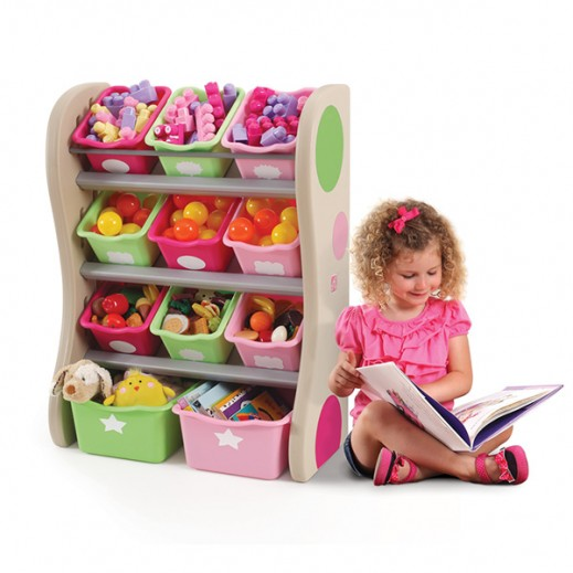 STEP2 Fun Time Room Organizer  - delivered by Shahaleel Within 2 Working Days