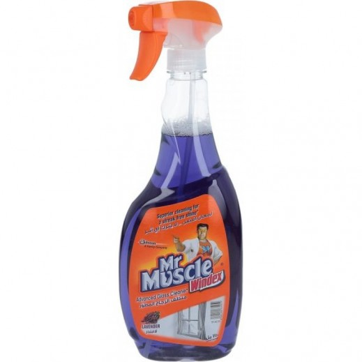 Mr Muscle Windex Glass Cleaner Lavender 750 ml