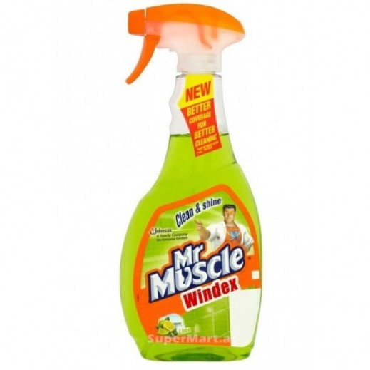 Mr Muscle Windex Glass Cleaner Lime 750 ml