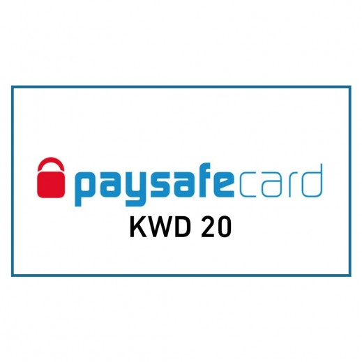 KWD20 Paysafe Card (Email Delivery)