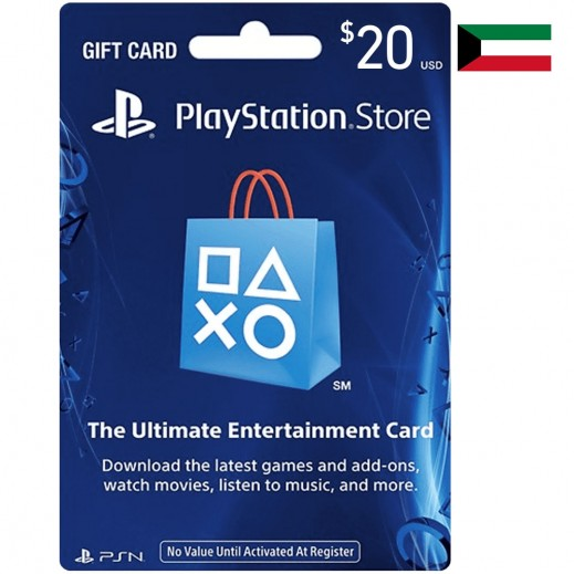 $20 PlayStation Store Gift Card - Kuwait (Email Delivery)