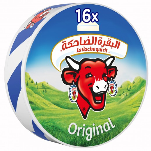La Vache qui rit Original Spreadable Cheese Triangles 16 portions 240 g