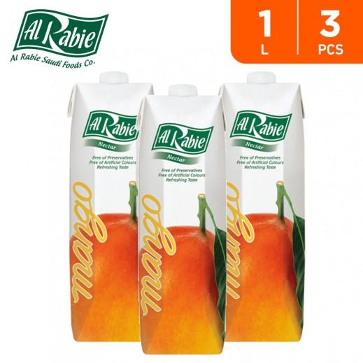 Al Rabie Mango Nectar Juice 3 x 1 L