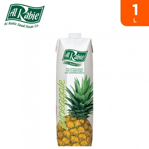 Al Rabie Pineapple Nectar Juice 1 L