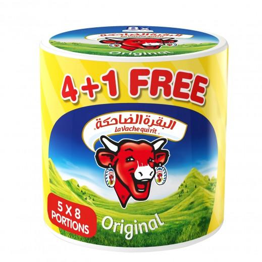 La Vache Qui Rit Original Spreadable Cheese 8 Portions (4+1 Free)