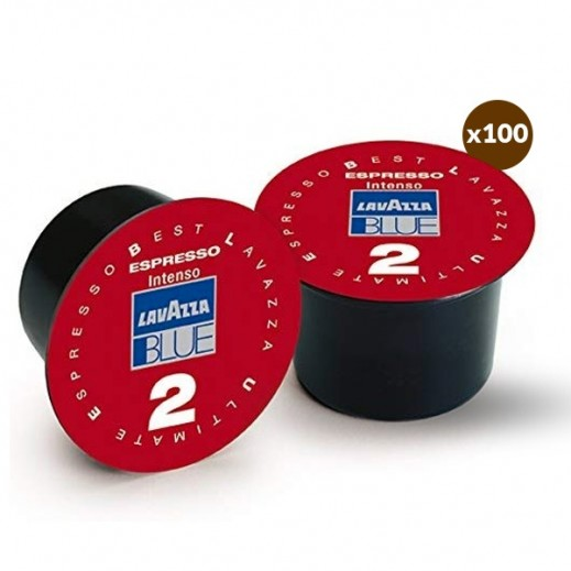 Lavazza Blue Intenso x 2 Coffee Capsule (100's)