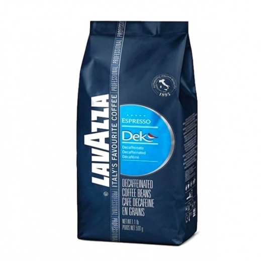 Lavazza Dek Bag Coffee Beans 500 g