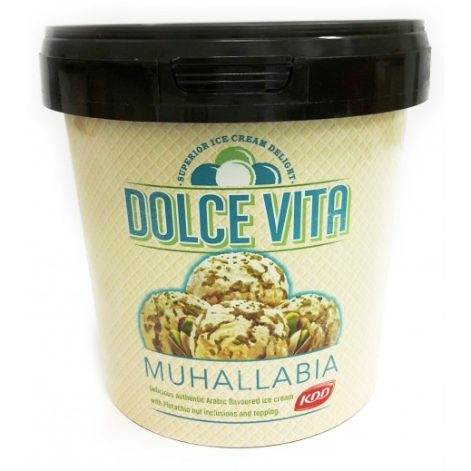 KDD Dolce Vita Muhallabiya with Pistachio ice Cream 1 L