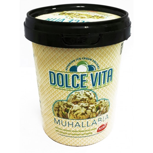KDD Dolce Vita Muhallabiya with Pistachio ice Cream 500 ml
