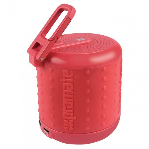 Promate - Mulotov Rugged Sporty Bluetooth Speaker - Red