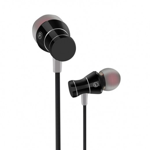 Dprui Earphones with Microphone - Black