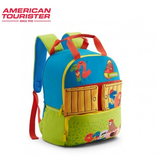 American Tourister Coodle 02 Backpack Blue/Green