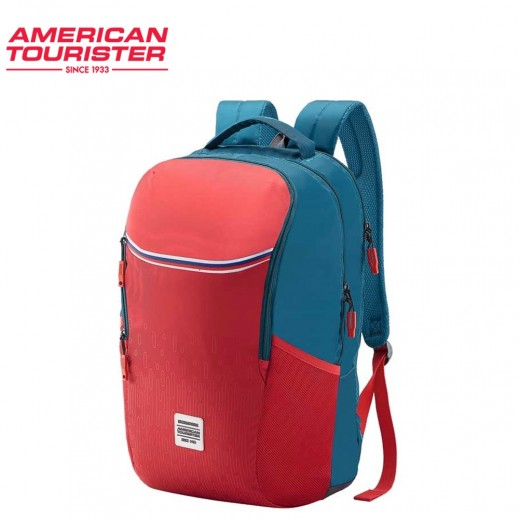 American Tourister Mate 02 Backpack Teal/Red