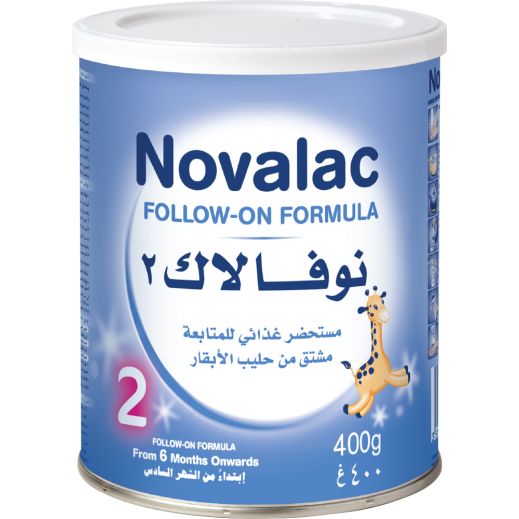 Novalac 2 Follow-On Formula 400g 6 months onwards