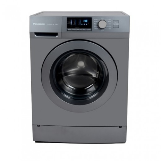 Panasonic 7KG Front Load Washer 12 Programs - Silver - delivered by  AL-YOUSIFI after 3 Working Days