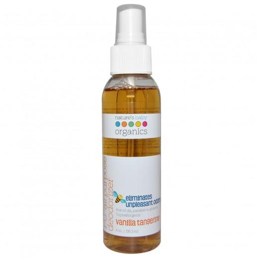 Nature's Baby Organics Vanilla Tangerine Pu All Purpose Deodorizer 118.3 ml