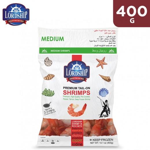Lordship Frozen Premium Medium Shrimps 400 g