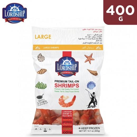Lordship Frozen Premium Large Shrimps 400 g