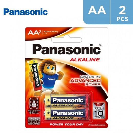 Panasonic Alkaline 1.5v AA size (2Pcs)