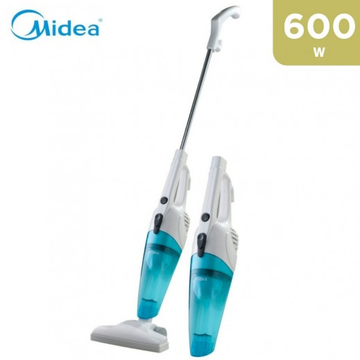 Midea 600W Vacuum Cleaner 2 in 1 - White - SC861