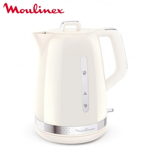 Moulinex 2400 W Electric Kettle 1.7L - White - delivered by Taw9eel Warehouse Next day