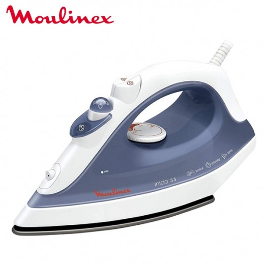 Moulinex 1800W Steam Iron - Blue - delivered by Taw9eel Warehouse Next day
