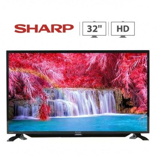"Sharp 32"" LED TV - Black - delivered by  AL-YOUSIFI after 3 Working Days"