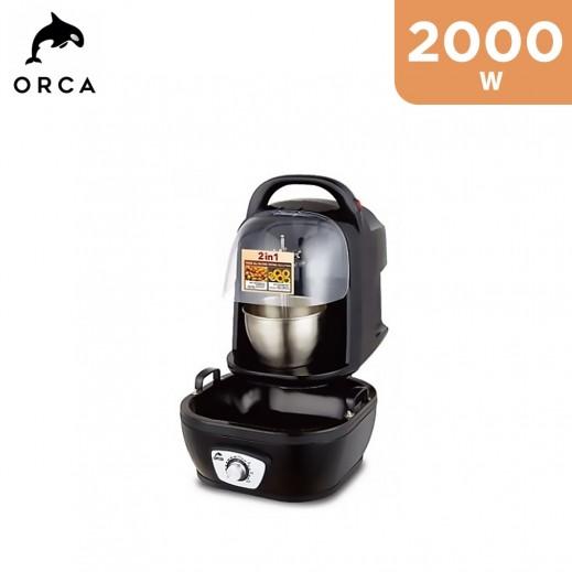Orca 2000W 2 in 1 Sweet Ball & Donut Maker - Black