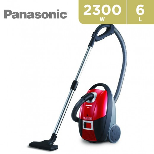 Panasonic 2300W Vacuum Cleaner 6L – Red - delivered by  AL-YOUSIFI after 3 Working Days