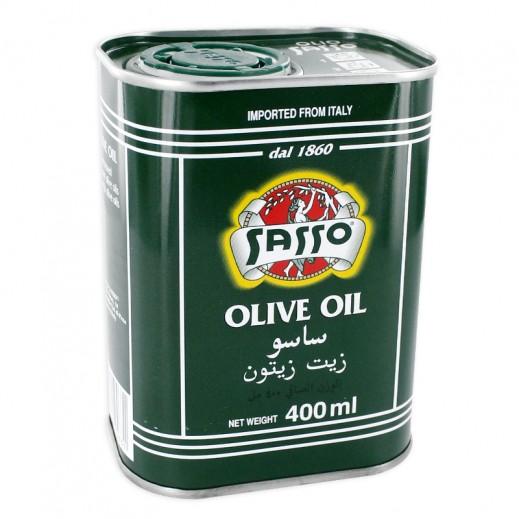 Sasso Olive Oil Tin 400 ml