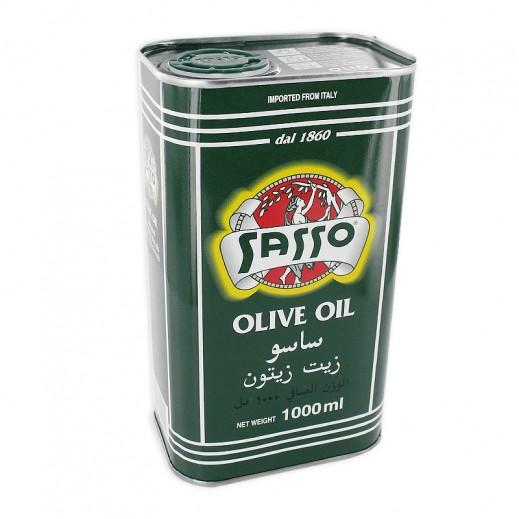 Sasso Olive Oil Tin 1 ltr