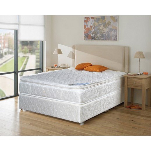 New Lama Mattress with Base - delivered by Abbas Al-Hazeem Company
