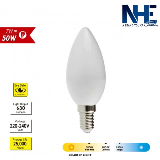 NHE LED Bulb 7 W - Daylight