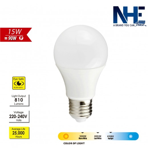 NHE 15 W LED Bulb - Daylight