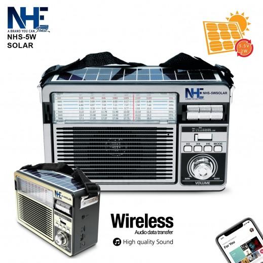 NHE Solar NHS Speaker 5W -Silver