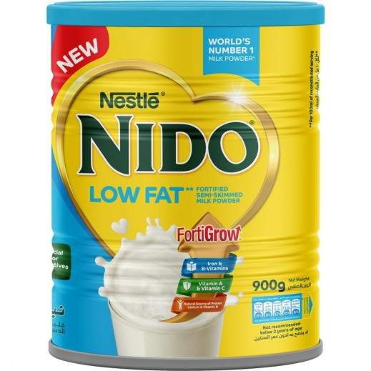 Nido Low Fat Fortified Semi Skimmed Milk Powder 900 g