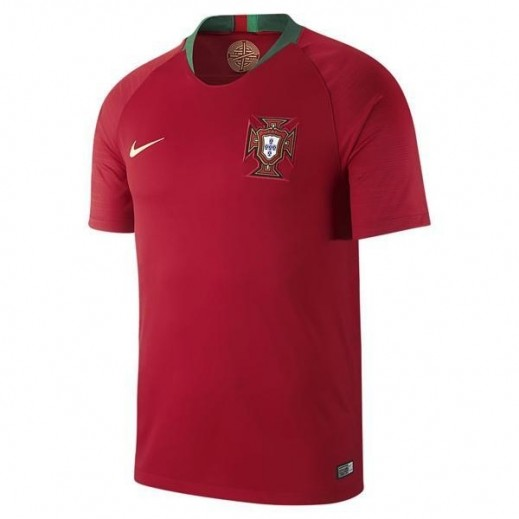 Nike Youth Portugal FPF Home Stadium Jersey Small -XLarge