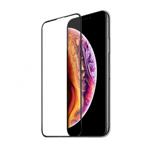 Hoco screen protector Full screen 3D For iPhone XS MAX/11 Pro MAX - Black