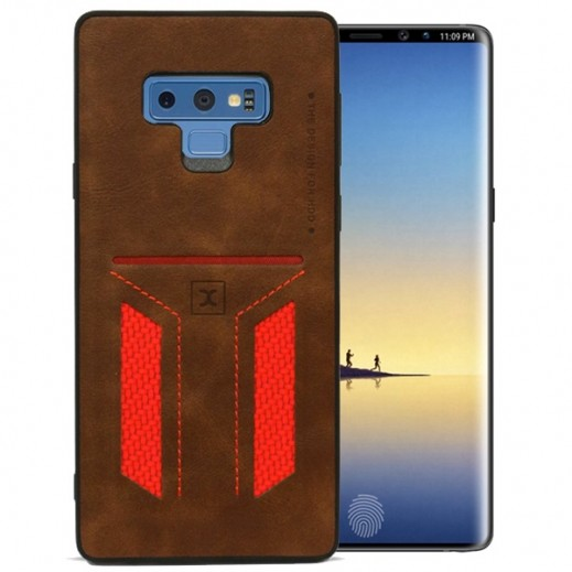HDD Card Slot Case for Samsung Note 9 - Brown