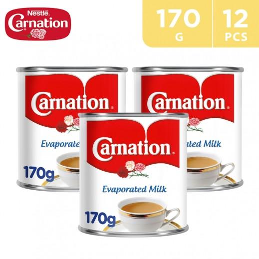 Carnation Evaporated Milk 12 x 170 g