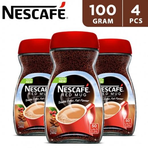 Nescafe Red Mug 4 x 100 g