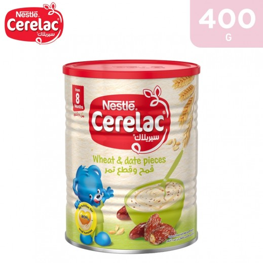 Cerelac Wheat & Date Pieces (from 8 months) 400 g