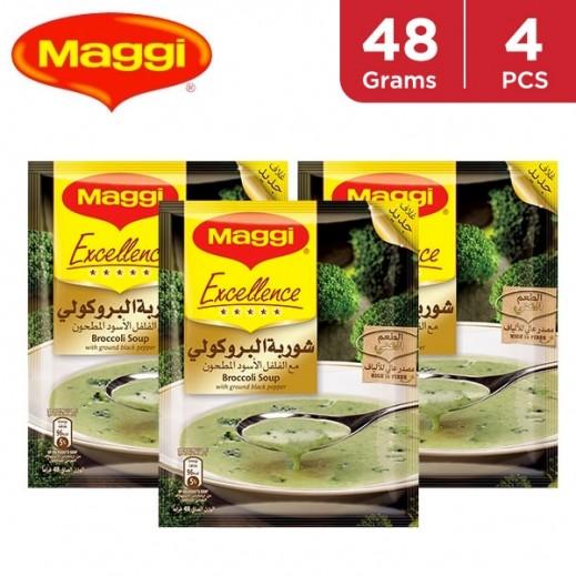 Maggi Soup Excellence Broccoli 4 x 48 g
