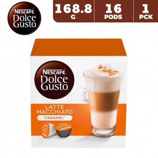 Nescafe Dolce Gusto Caramel Latte Macchiato 168.8 g (16 capsules)