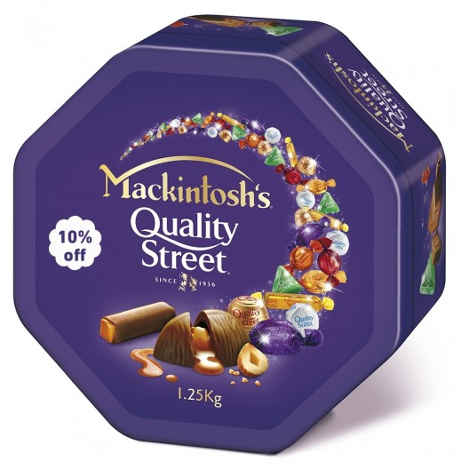 Mackintoshs Quality Street 1.25 kg ( 10% Off)