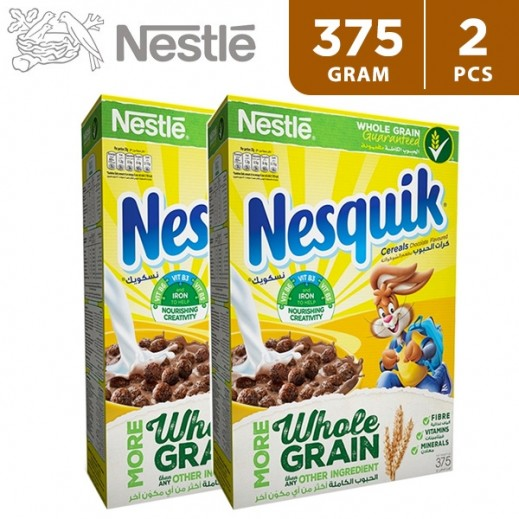 Nestle Nesquik Cereal Multipack 2 x 375 g (15% Off)