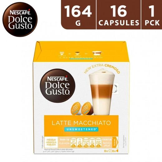 Nescafe Dolce Gusto Latte Macchiato Unsweetened 164 g (16 capsules)