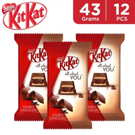 KitKat 5f Double Chocolate 12 x 43 g